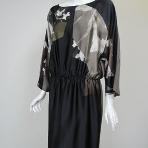 DRIES VAN NOTEN SILK FLORAL DRESS ~ 38 ~ sz.8